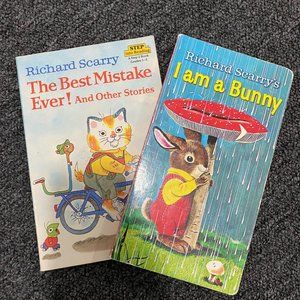 Richard Scarry Two Book Lot